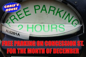 FREE PARKING at Chris' House in Hamilton