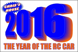 2016 At Chris' House RC CARS In Hamilton