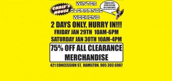 Mega Clearance Weekend!