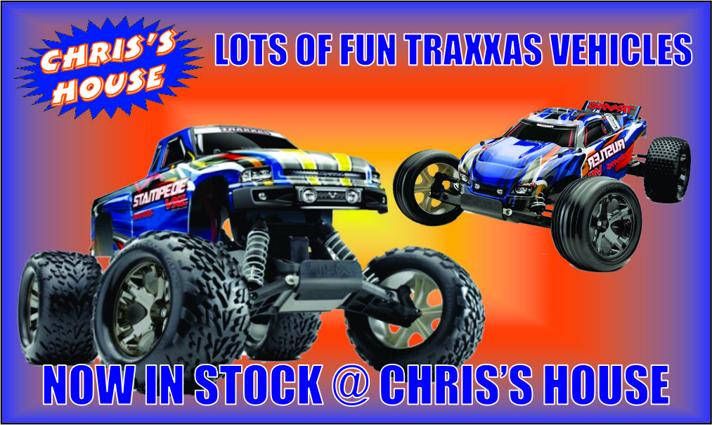 We Now Carry Traxxas!